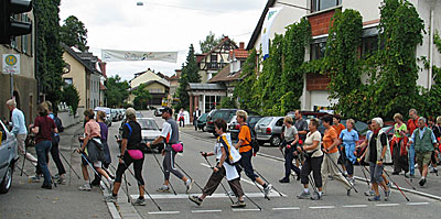 Nordic Walking beim Aktionstag der ÖkoRegio Tour