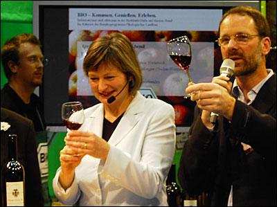 Thomas Harteneck auf der Grünen Woche 2009