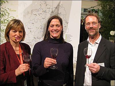 Weingut Harteneck auf der Grünen Woche in Berlin