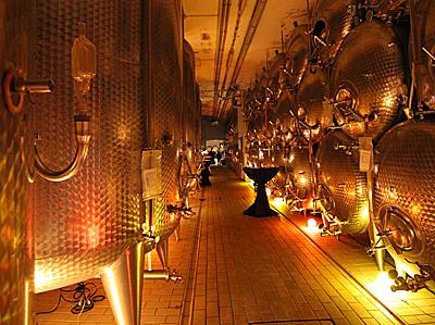 Adventsstimmung im Weinkeller