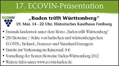 ECOVIN-Präsentation 2012