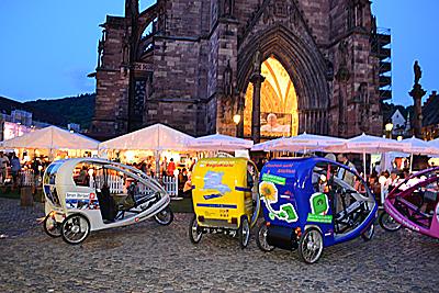 Freiburger Fahrrad-Taxi