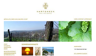 Sommerweinpakete aus dem Weingut Harteneck