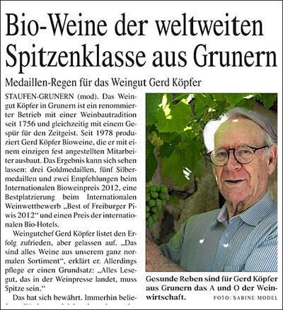 Betriebsporträt Weingut Köpfer