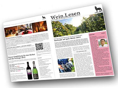 Kundenmagazin der WG Wolfenweiler