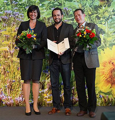 Förderpreis Ökologischer Landbau für das Weingut Zähringer