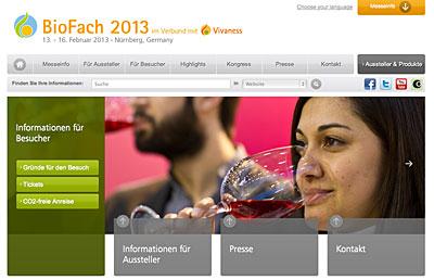 BioFach Messe 2013