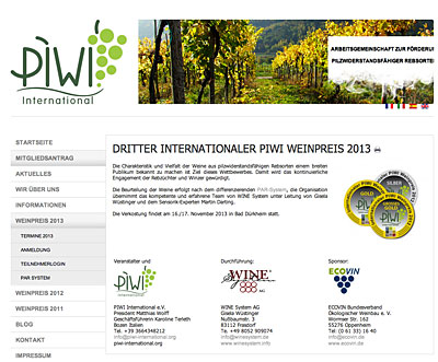 3. Int. Bioweinpreis 2013