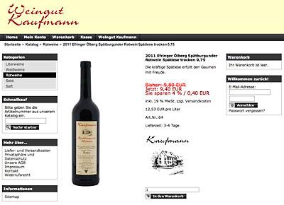 Wein des Monats vom Weingut Kaufmann