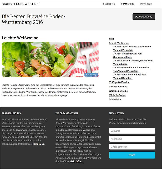 Die Besten Bioweine Baden-Württemberg 2016