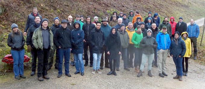 Die Teilnehmer der Fortbildung Biodynamie in St. Ulrich.