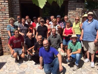 Ecovin-Studienreise Georgien 2015 - Gruppenfoto