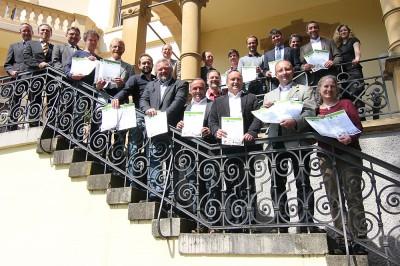 Die Sieger der Prämierung der Besten Bioweine Baden-Württemberg 2013