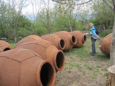Qvevribuilder in Kachetien